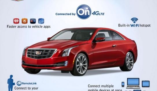 Cadillac sẽ trang bị công nghệ 4G cho xe hơi