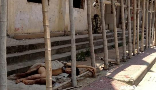 Bộ ảnh sốc: Những ngày cuối đời của một 'con nghiện'
