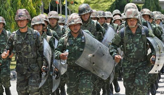Cựu Thủ tướng Thái Lan bị bắt, Mỹ tuyên bố cắt viện trợ quân sự