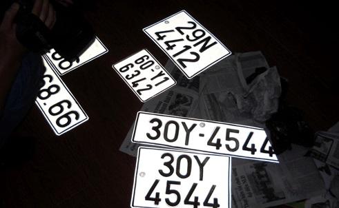 Hà Nội được cấp thêm đầu biển số xe 40