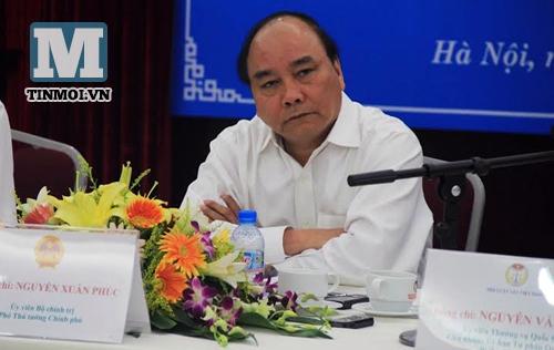 Phó Thủ tướng Nguyễn Xuân Phúc nói về tình hình Biển Đông