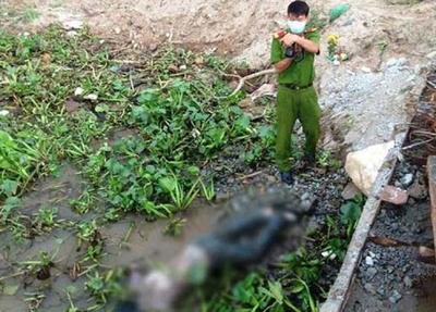 Sự thật vụ xác chết trôi sông bị trói 2 chân, buộc miếng xốp