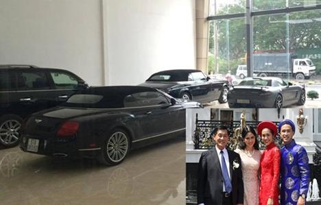 Choáng ngợp dàn siêu xe của nhà chồng Hà Tăng
