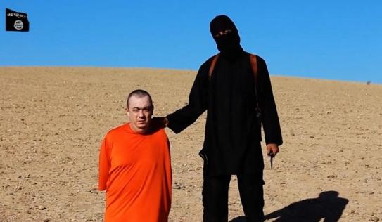 ISIS quay cảnh chặt đầu con tin phương Tây thứ 4