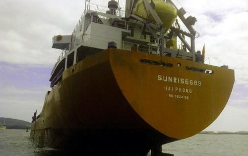 Tàu Sunrise 689 bị cướp biển tấn công: Cảnh sát biển vào cuộc điều tra