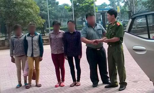 Giải cứu thiếu nữ 13 tuổi sắp bị bán vào ổ mại dâm