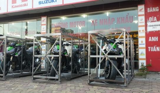Lộ diện lô hàng Kawasaki Z1000 2014 cực khủng tại Hà Nội
