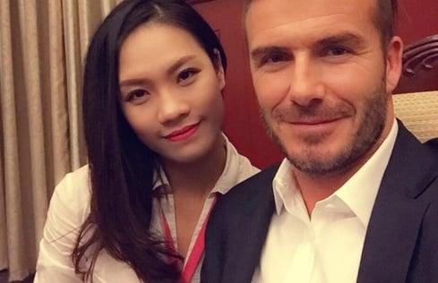 Cô gái Hà Nội 'gây bão' nhờ Beckham không muốn làm người nổi tiếng