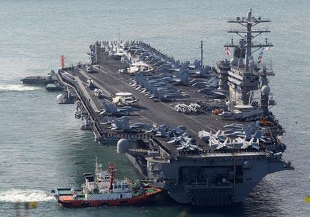 """Mỹ tập trận để """"gây choáng cho Trung Quốc"""""""