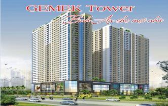 Sơ đồ mặt bằng dự án Gemek Tower Blok A