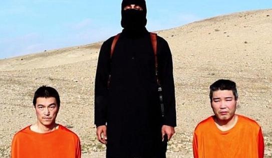 IS tung video tống tiền, dọa giết 2 con tin Nhật Bản