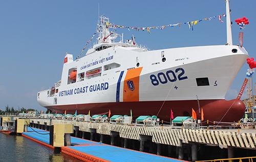 Mỹ bàn giao 5 tàu tuần tra biển cho Việt Nam