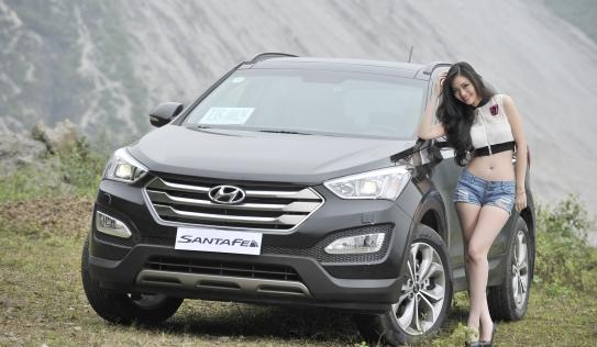 Hyundai SantaFe 2015 đồng hành cùng thiếu nữ trên cung đường Tây Bắc