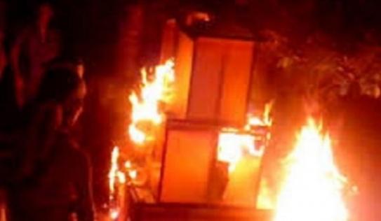 Cãi nhau với vợ cũ, chồng đổ xăng đốt con gái 7 tuổi
