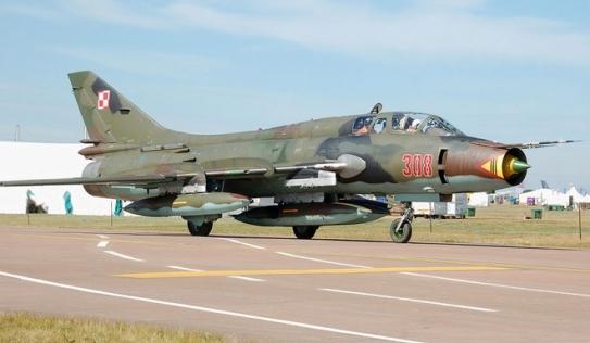 Máy bay Su-22 rơi ở đảo Phú Quý: 2 phi công mất tích