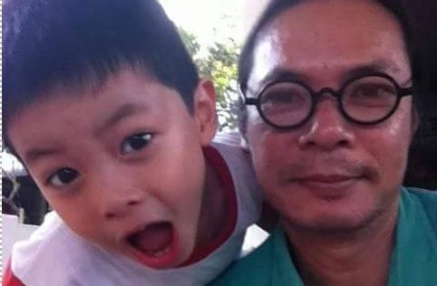 Ảnh đời thường đáng yêu của cặp đôi Bờm - Bo trong Bố ơi, mình đi đâu thế?
