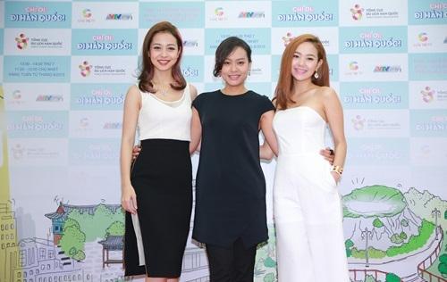 Bộ ba Jennifer Phạm, Minh Hằng, Hồng Ánh cùng nhau đi khắp Hàn Quốc