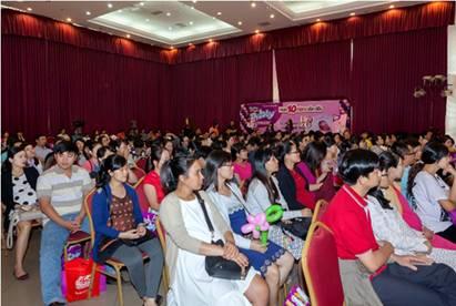 Ngày hội chăm sóc mẹ và bé đã đến Đà Nẵng