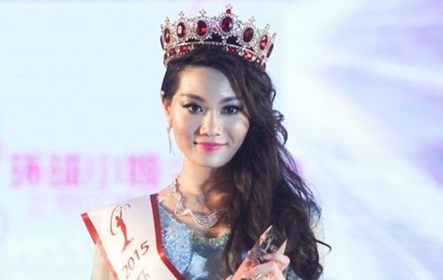 Tân hoa hậu Hoàn vũ Trung Quốc 2015 thất vọng về nhan sắc