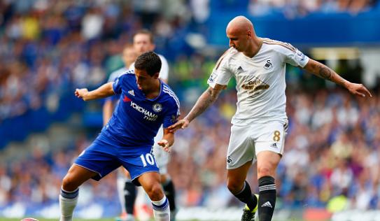 Video bàn thắng: Chelsea bị Swansea cầm chân tại Stamford Bridge
