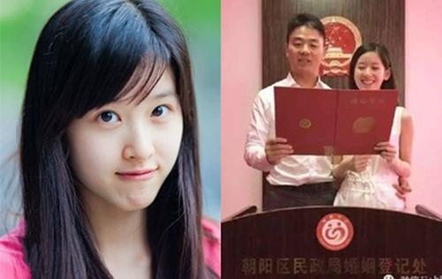 Cô bé trà sữa Trung Quốc đã kết hôn và dính nghi án mang bầu với đại gia U40