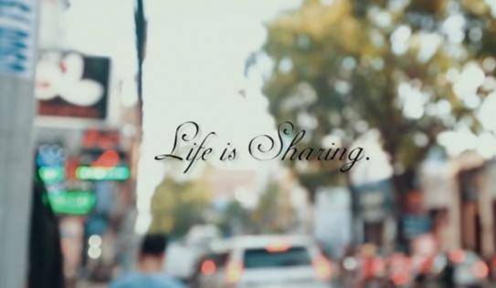 Cộng đồng mạng 'sốt' với clip Life is Share