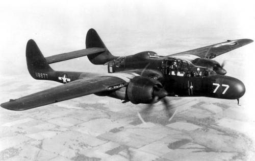 'Nội soi' tiêm kích bay đêm 'Góa phụ đen' Northrop P-61