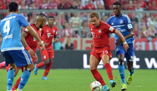 Video bàn thắng: Bayern Munich 5-0 Hamburg - vòng 1 Bundesliga