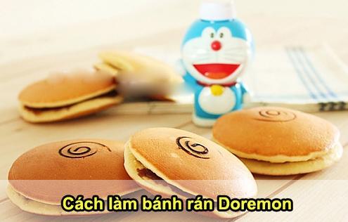 Cách làm bánh rán Doremon thơm ngon đơn giản nhất