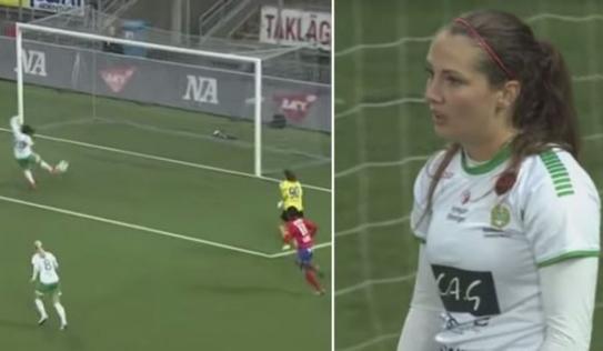 Video: Nữ cầu thủ đốt lưới nhà một cách khó hiểu