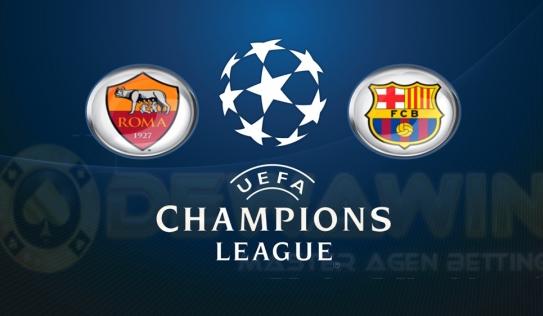 Kết quả trận đấu Roma1-1Barcelona