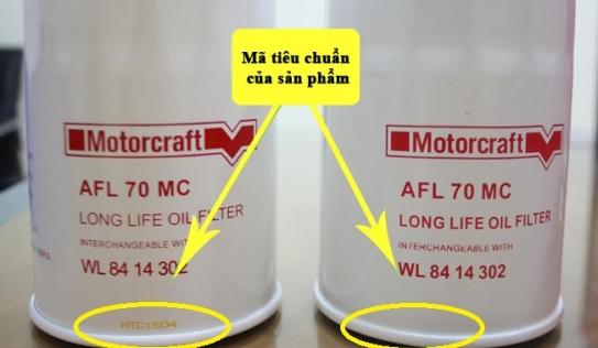 Lọc dầu xe Ford chính hãng và cách phân biệt với hàng giả