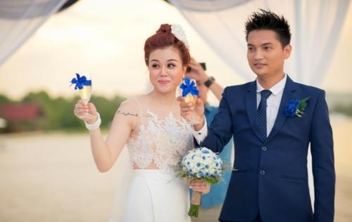 Đám cưới hoành tráng của 'ông trùm hoa hậu' và cô tiếp viên hàng không
