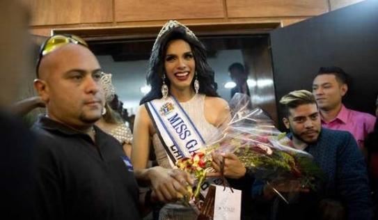 Chân dung Hoa hậu Gay Venezuela 2015