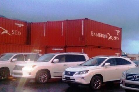 """5 xe sang """"bỏ quên"""" tại cảng Đà Nẵng sẽ sung quỹ Nhà nước"""