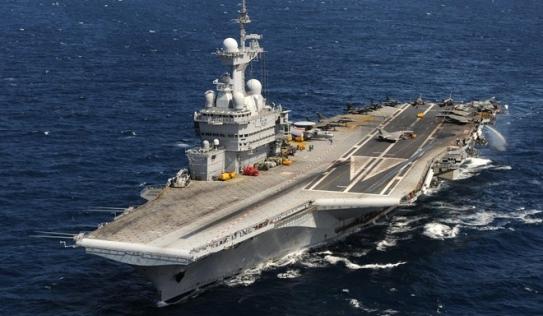 Hôm nay siêu tàu sân bay Pháp bắt đầu tham gia không kích IS