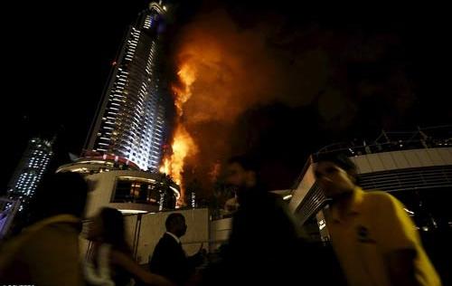 Video: Cháy dữ dội gần tòa tháp cao nhất thế giới ngay trước giao thừa