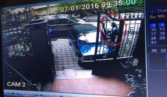 """""""Cướp xe chở hơn 400 cây vàng"""": Camera tiết lộ hình nghi phạm"""