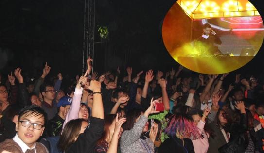 DJ Slim V khiến hàng ngàn sinh viên cháy trong đại nhạc hội INED