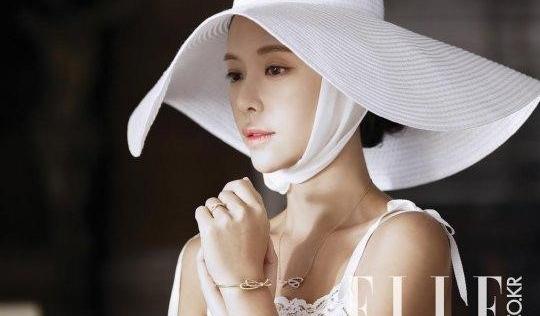 Hwang Jung Eum hé lộ ảnh cưới trước khi lên xe hoa