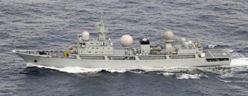 Báo Nhật: Trung Quốc lợi dụng tình hình Triều Tiên để triển khai tàu tình báo