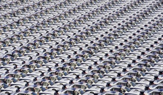 Choáng váng với loạt ảnh về sự đông đúc ở Trung Quốc