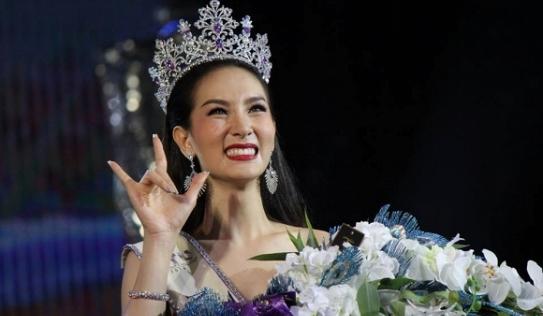 Ngắm nhan sắc thay đổi của Tân Hoa hậu chuyển giới Thái Lan