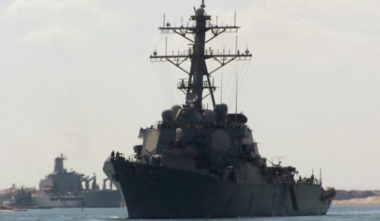 Video: Tàu chiến Mỹ được trang bị tên lửa tối tân tiến vào Biển Đen