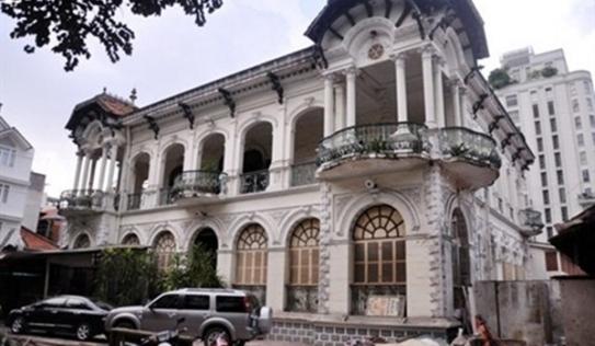 Ngôi biệt thự 100 tuổi ở Sài Gòn từng được rao bán gần 800 tỷ