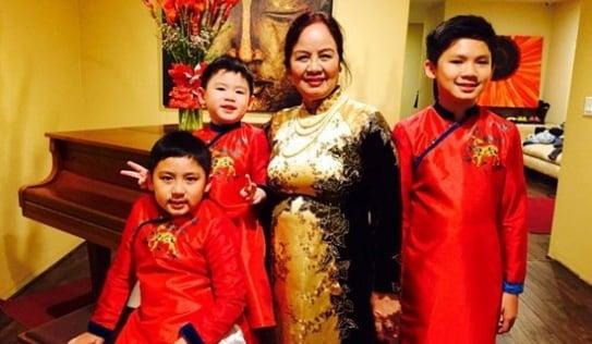 Điều ít biết về người mẹ nổi tiếng của Bằng Kiều