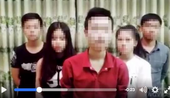 Bác thông tin học sinh trong clip chế giễu thi cử bị đuổi học, nộp phạt