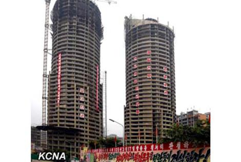 Tòa nhà 70 tầng xây trong 74 ngày của Bình Nhưỡng