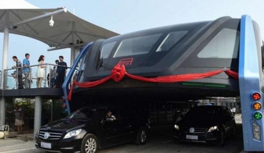 """Nghi ngờ """"xe bus bay"""" của Trung Quốc chỉ là chiêu trò lừa bịp ?"""