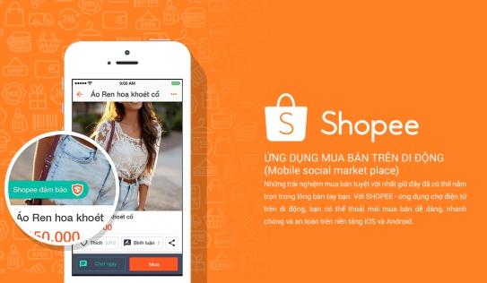 Tải Shopee - Ứng dụng mua bán trên di động cực hay ho